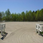 38,000 SQ FT arena graded