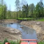filling pond