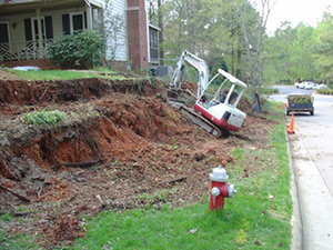 Excavation Service Wendell NC